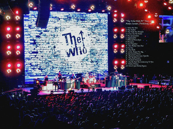 Photograph - The Who by Tanya Filichkin