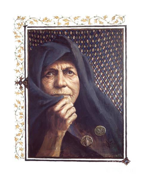 The Widow's Mite - Lgtwm Art Print