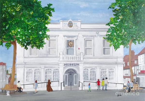 Painting - The Willis Museum, Basingstoke 2017  by Karen Jane Jones