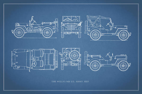 Wall Art - Photograph - The Willys Jeep by Mark Rogan