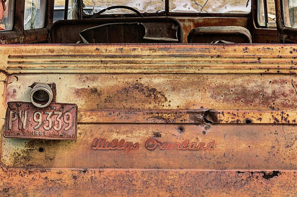 Photograph - The Willys Jeep Overland by JC Findley
