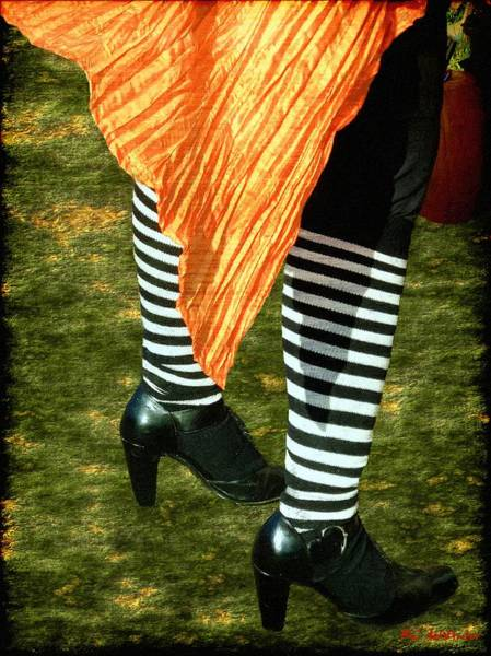 Painting - The Wind And The Witch's Knickers by RC DeWinter