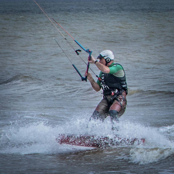 Photograph - The Wind Surfer by James Woody