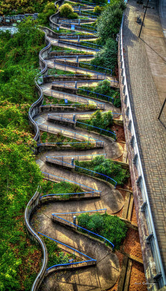 Photograph - The Winding Way Chattanooga Tennessee Art by Reid Callaway