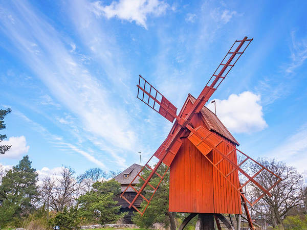 Photograph - The Windmill by Robin Zygelman