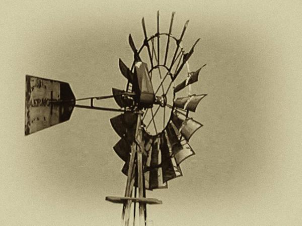 Wind Vane Digital Art - The Windmills Of My Mind by Bill Cannon