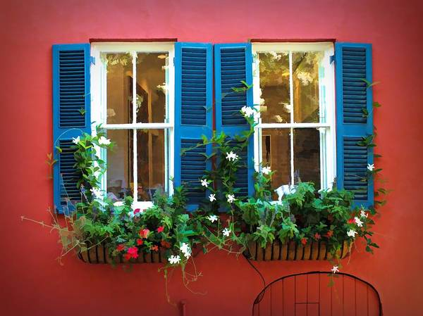 Digital Art - The Windows - Charleston, South Carolina by Joseph Hendrix