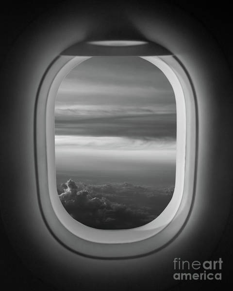 Framing Photograph - The Window Seat Bw by Michael Ver Sprill