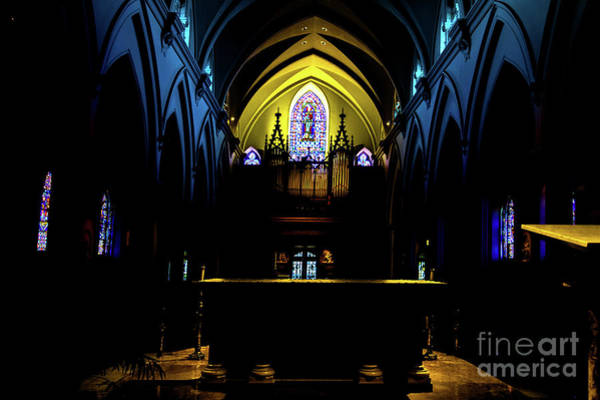 Photograph - The Windows Of St Thomas Of Villanova by William Norton