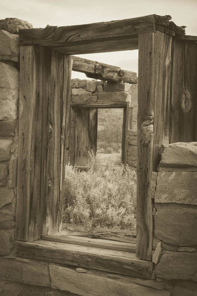 Photograph - The Windows Of Time 2 by Teresa Wilson