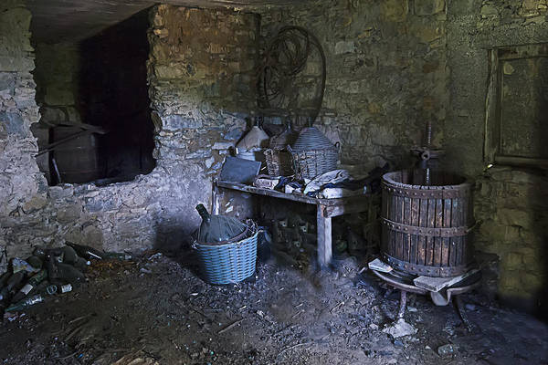 Photograph - The Wine Cellar by Enrico Pelos