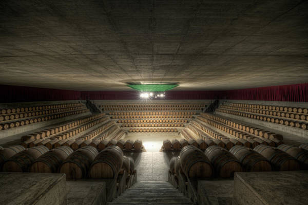 Cellar Wall Art - Photograph - The Wine Temple by Marco Romani