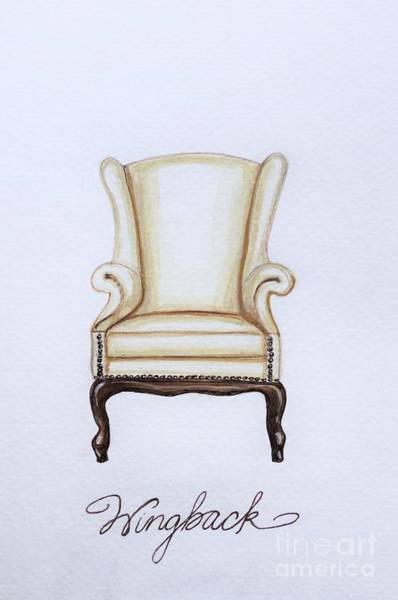 Painting - The Wingback Chair by Elizabeth Robinette Tyndall