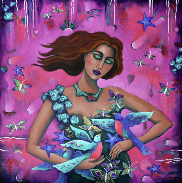 Painting - The Winged by Carla Golembe