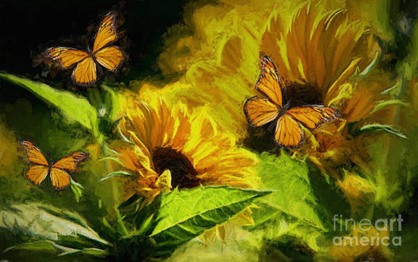 Monarch Painting - The Wings Of Transformation by Tina  LeCour