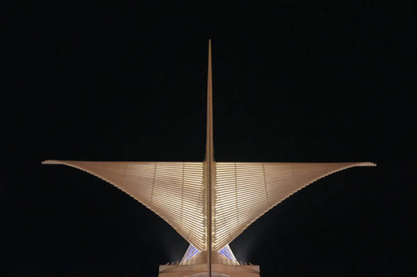 Milwaukee Art Museum Photograph - The Wings by Art Spectrum