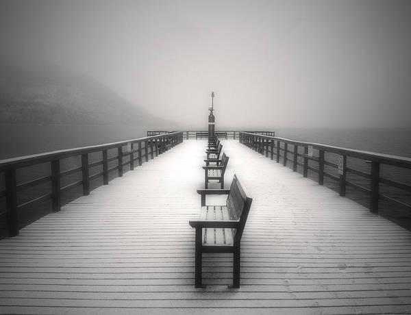 Photograph - The Winter Pier by Tara Turner