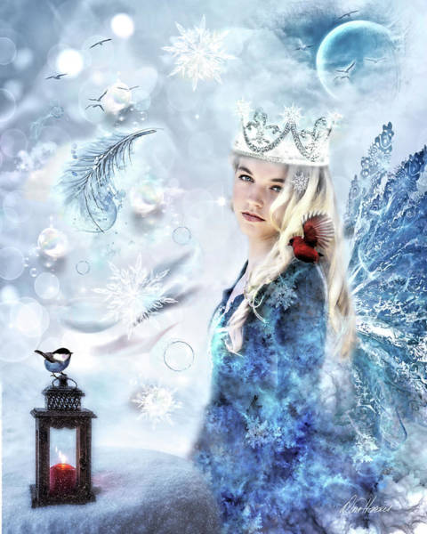 Photograph - The Winter Queen by Diana Haronis