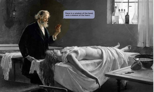 Heartbroken Digital Art - The Wisdoms by Valentina Genesini