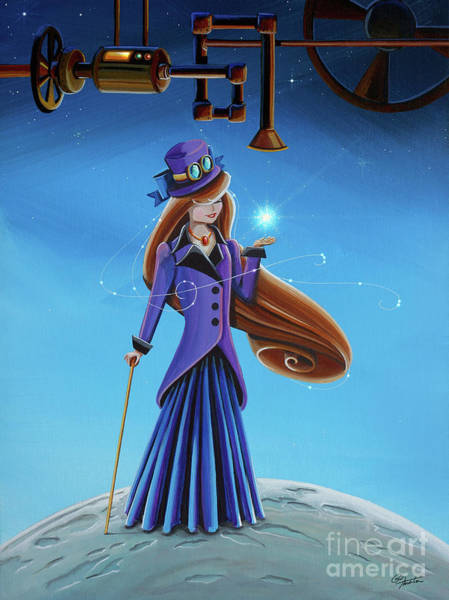 Wall Art - Painting - The Wishmaker by Cindy Thornton