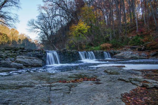 Photograph - The Wissahickon Creek - Philadelphia In Autumn by Bill Cannon
