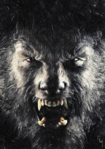 Toros Painting - The Wolfman by Zapista Zapista