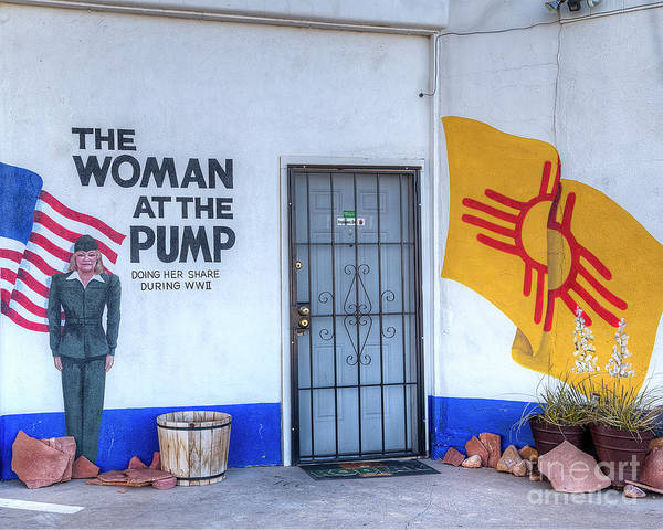 Wall Art - Photograph - The Woman At The Pump by Twenty Two North Photography