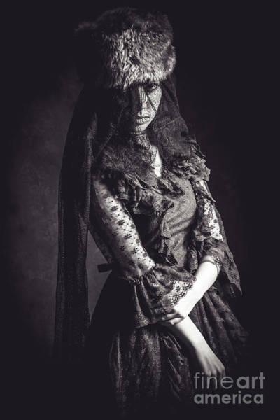 Photograph - The Woman In Black 5 by Keith Morris