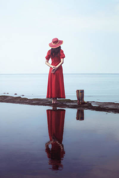 Wall Art - Photograph - the woman with the Wellies by Joana Kruse