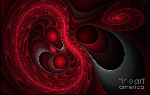 Digital Art - The Womb by Sandra Bauser Digital Art