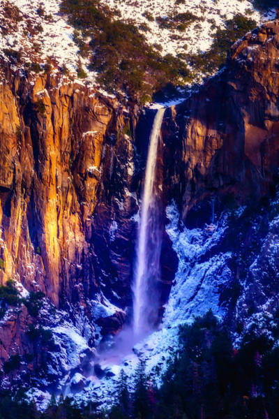 The Wonderful Bridalveil  Falls Art Print