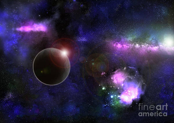 Digital Art - The Wonders Of The Universe by Tracey Everington