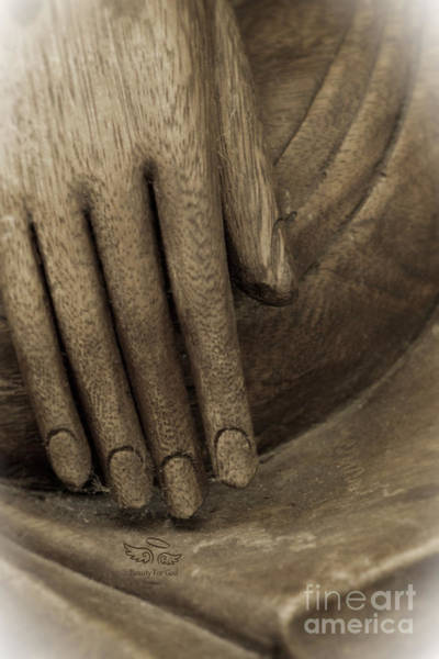 Photograph - The Wooden Hand Of Peace by Beauty For God