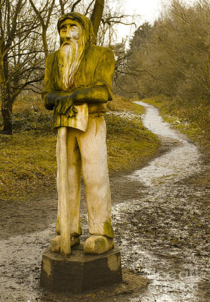 Axeman Wall Art - Photograph - The Woodman Of The Beacon by Linsey Williams
