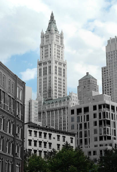 Photograph - The Woolworth Building - Nyc by Frank Mari