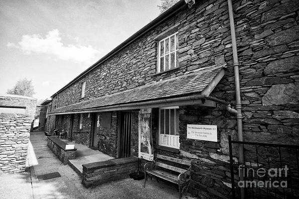 Grasmere Wall Art - Photograph - The Wordsworth Museum In The Hamlet Of Town End Near Grasmere Lake District Cumbria England Uk by Joe Fox