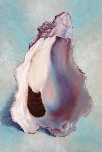 Wall Art - Painting - The World Is Your Oyster by Pam Talley