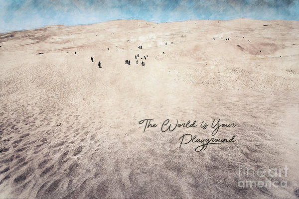 Photograph - The World Is Your Playground by James Hennis