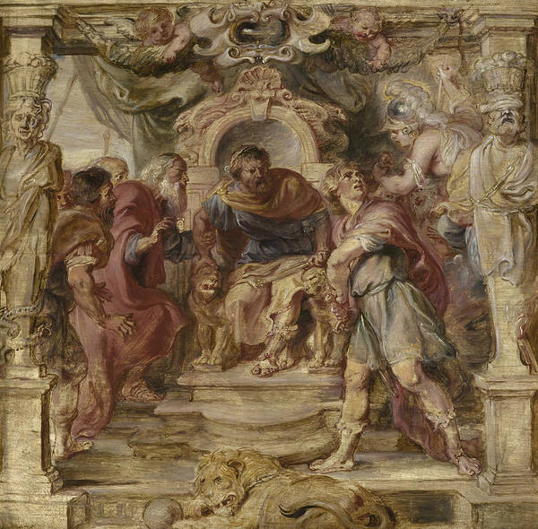 Painting - The Wrath Of Achilles by Peter Paul Rubens