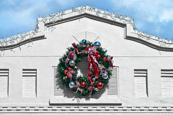 Photograph - The Wreath by Christopher Holmes