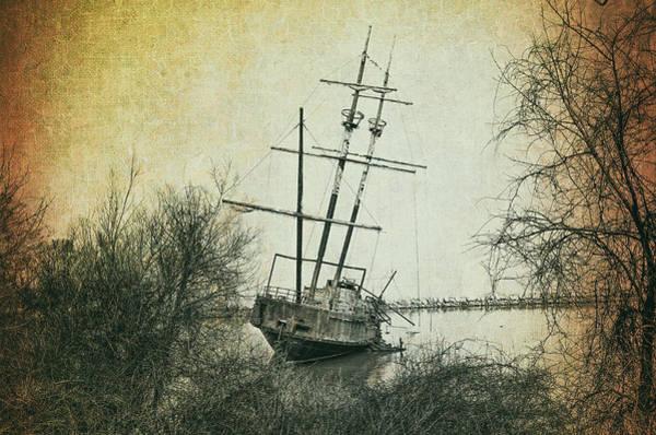 Shipwreck Digital Art - The Wreck Of La Grande Hermine by Bill Cannon
