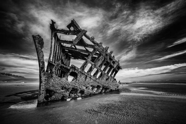 Photograph - The Wreck Of The Peter Iredale by Rick Berk