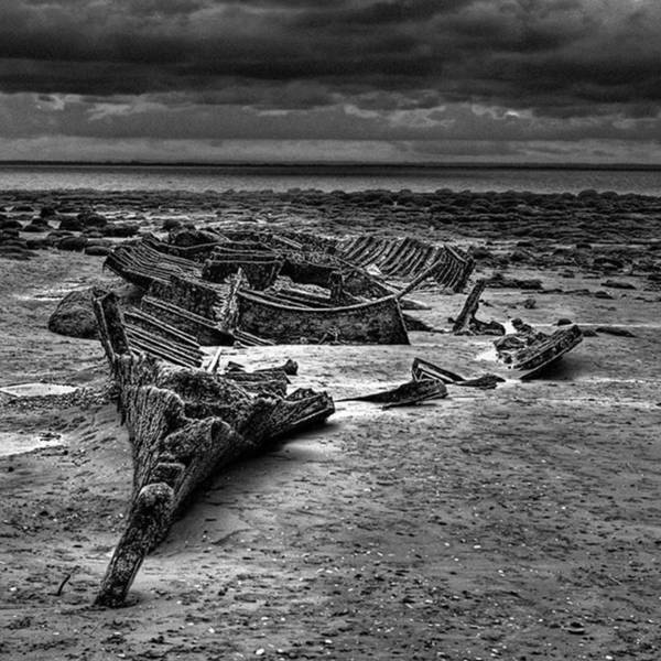 The Wreck Of The Steam Trawler Art Print