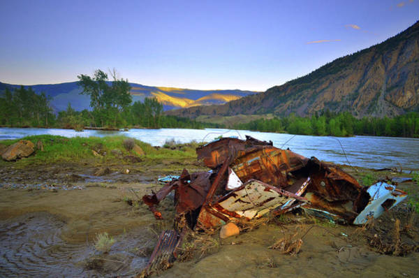 Photograph - The Wreckage And The River by Tara Turner