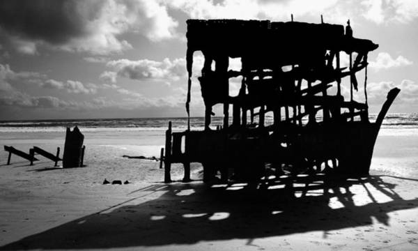 Warrenton Wall Art - Photograph - The Wreckage Of The Peter Iredale II by Todd Fox