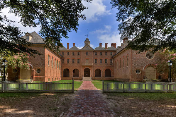 Photograph - The Wren Building At William And Mary by Jerry Gammon