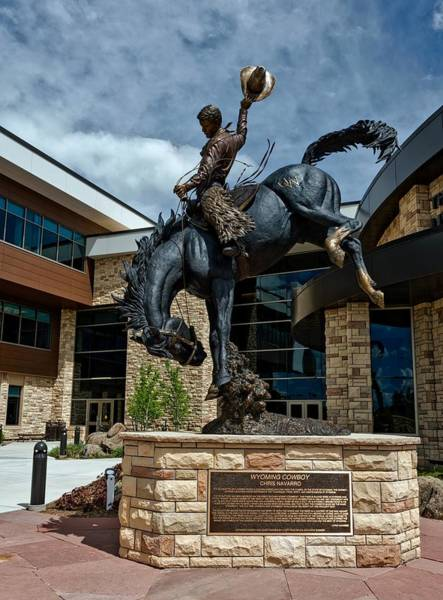 Laramie Photograph - The Wyoming Cowboy by Mountain Dreams