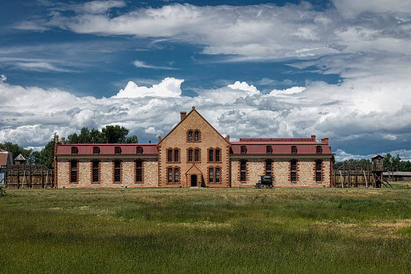 Laramie Photograph - The Wyoming Territorial Prison by Mountain Dreams