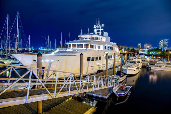 Villandry Photograph - The Yacht by Christopher Villandry