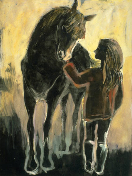 Painting - The Yearling by Laura Lee Cundiff